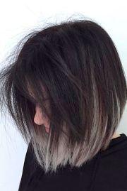 grey ombre hair season
