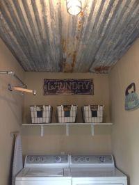 Best 25+ Rustic tin ceilings ideas on Pinterest   Rustic ...