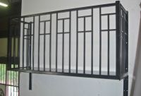 Wrought iron Balconies. Cubist wrought iron balcony from ...