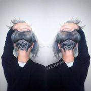 1000 ideas shaved head design