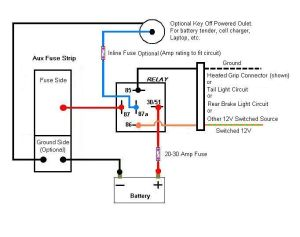 14 Pin Relay Wiring Diagram | Topic: Aux Fuse Box Wiring
