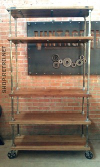 DIY Metal Pipe Shelves | DIY Furniture | Pinterest ...