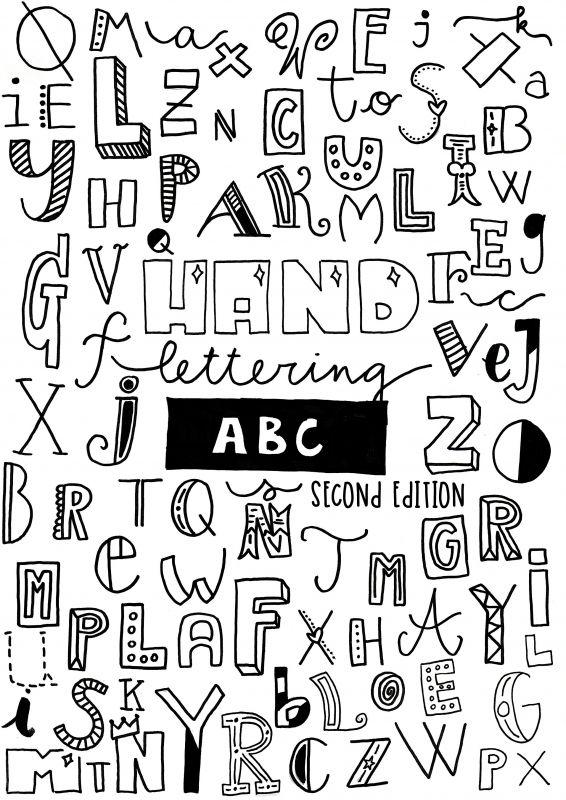 Afbeeldingsresultaat Voor Handlettering Alfabet Tekenen