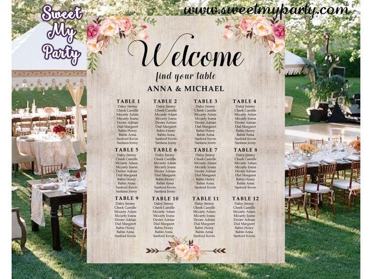 25+ Best Ideas About Wedding Seating Arrangements On