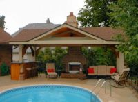 Pool House Designs for Beautiful Pool Area: Pool House ...