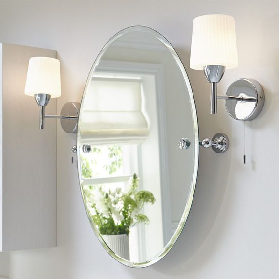 25 best ideas about Oval Bathroom Mirror on Pinterest  Half bath remodel Powder rooms and
