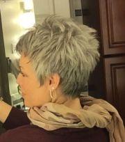 1000 ideas short grey haircuts