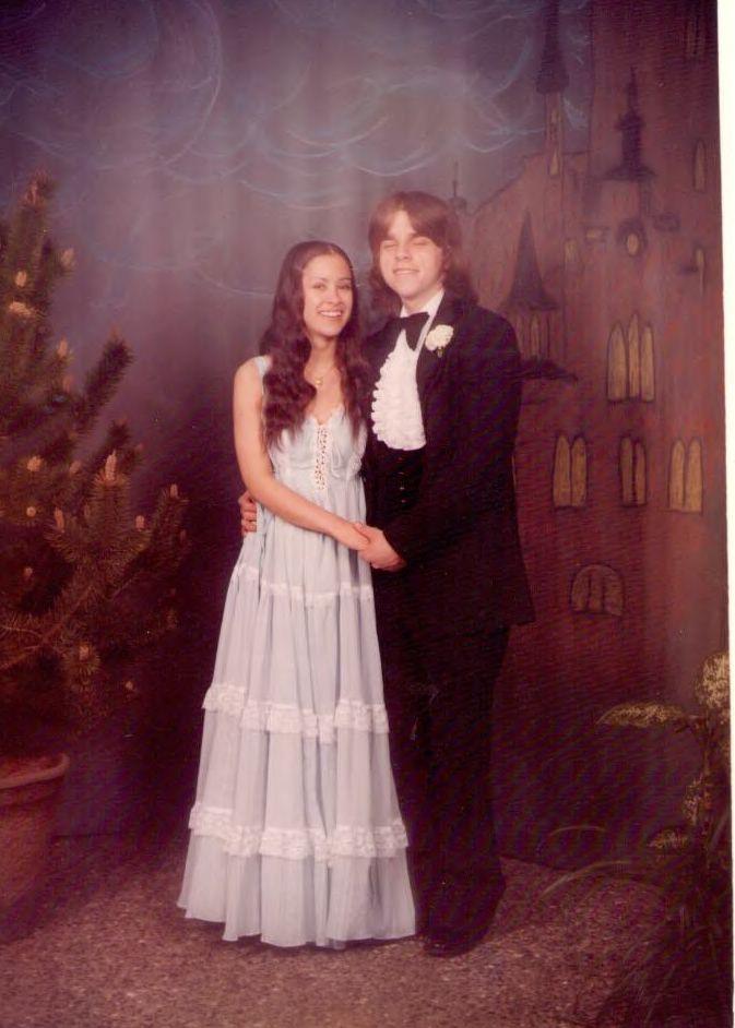 Senior Prom 1978  1970s  prom fashion  Pinterest  Senior prom and Prom