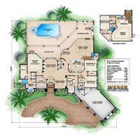 17 Best ideas about Mediterranean House Plans on Pinterest