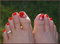 Toenail designs: Simple toenail designs | pedis ...