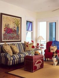 78+ images about living room on Pinterest | Red white blue ...
