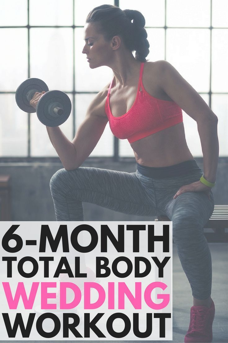 6Month Wedding Weight Loss Plan 11 Workouts for a Toned Body  Wedding weight loss Losing 10