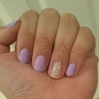 25+ best ideas about Short Gel Nails on Pinterest