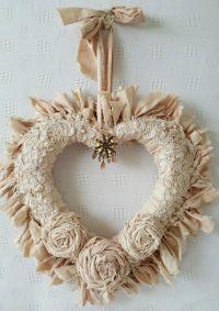 Best 25+ Shabby chic wreath ideas on Pinterest