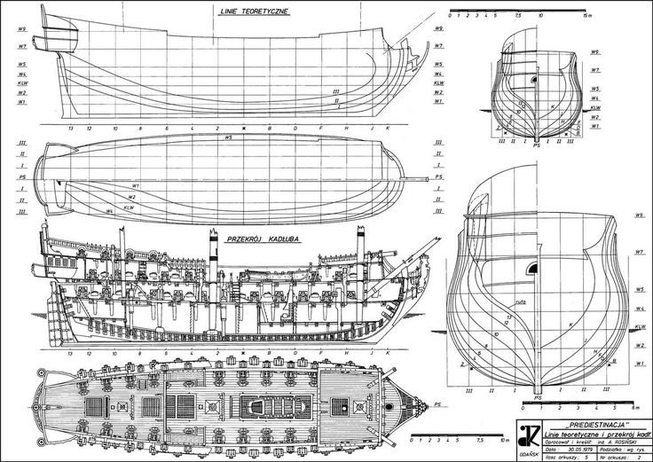 Ship plans that would be great for pirate ship inside my