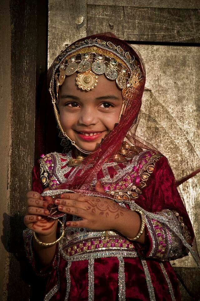 Omani girl When see the beautiful Children of the World we see a future. We must never forget the children, tomorrow's future generation. Every Child Matters. We must free the children suffering harm and abuse of conflicts across the globe. We all have a moral obligation to do anything we can to help and protect the innocence and childhood of God's Children. May God Bless the Children of the World and keep them safe. We are all God's Children, One Love, One Human Race, One Peace.