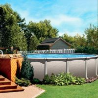Above ground pool | Pool, Beach, & Backyard | Pinterest ...