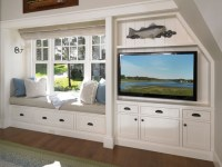 Built In With Window Seat and Entertainment Center | Redo ...
