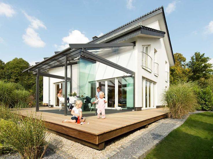 Les 25 Meilleures Idées De La Catégorie Terrassenüberdachung Glas