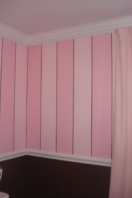 Best 25 Pink striped walls ideas on Pinterest