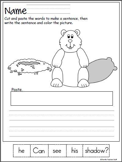 Groundhog Day Worksheets Kindergarten Free Worksheets