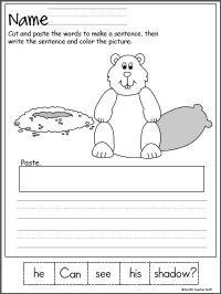 Groundhog Day Worksheets Kindergarten Free Worksheets