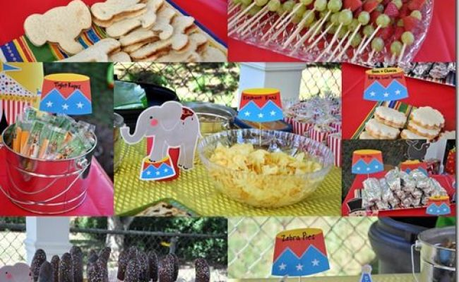 1000 Images About Circus Snacks On Pinterest Send In