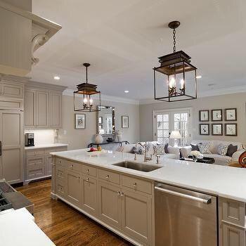 Cabinet color is Valspar Montpelier Ashlar Gray  Paint
