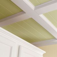 Super AWESOME tutorial on how to do a coffered ceiling ...