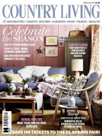 Country Living Magazine UK February 2016 cover | England ...