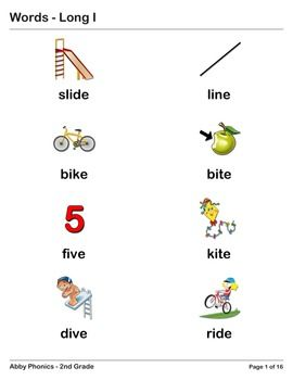 I series, Second grade and Phonics on Pinterest