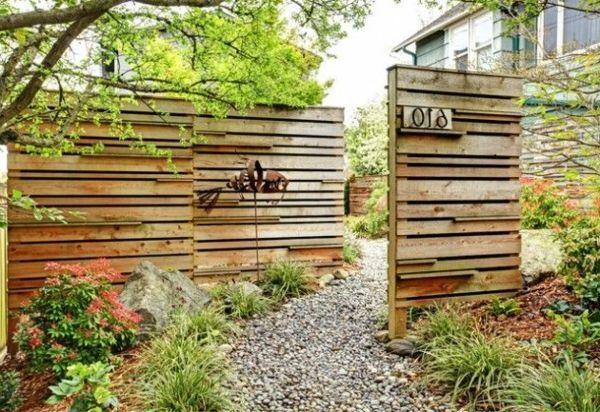 Sichtschutz Aus Holz Selber Bauen Google Suche Garten