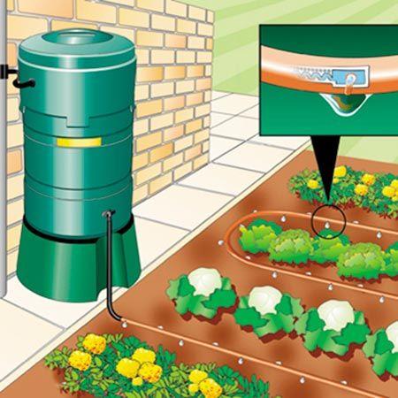 25 Best Ideas About Garden Irrigation System On Pinterest Water