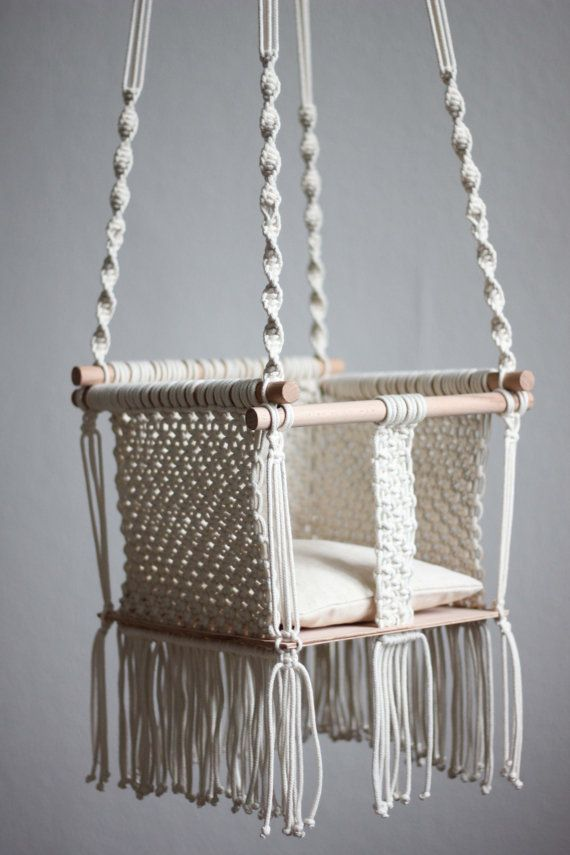 baby chair swing pink cane dining table chairs 1000+ ideas about macrame on pinterest | tutorial, plant hangers and knots
