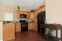 I want dark hardwood floors but have light cabinets. It ...