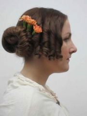 1840's hairstyle