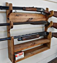 17 Best ideas about Gun Racks on Pinterest | Gun cabinets ...