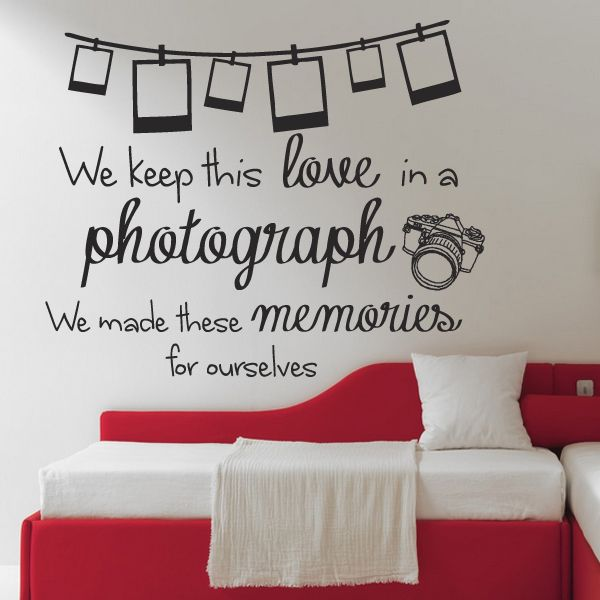 sample living room layouts best leather furniture ed sheeran photograph lyrics quote wall sticker design 2 ...