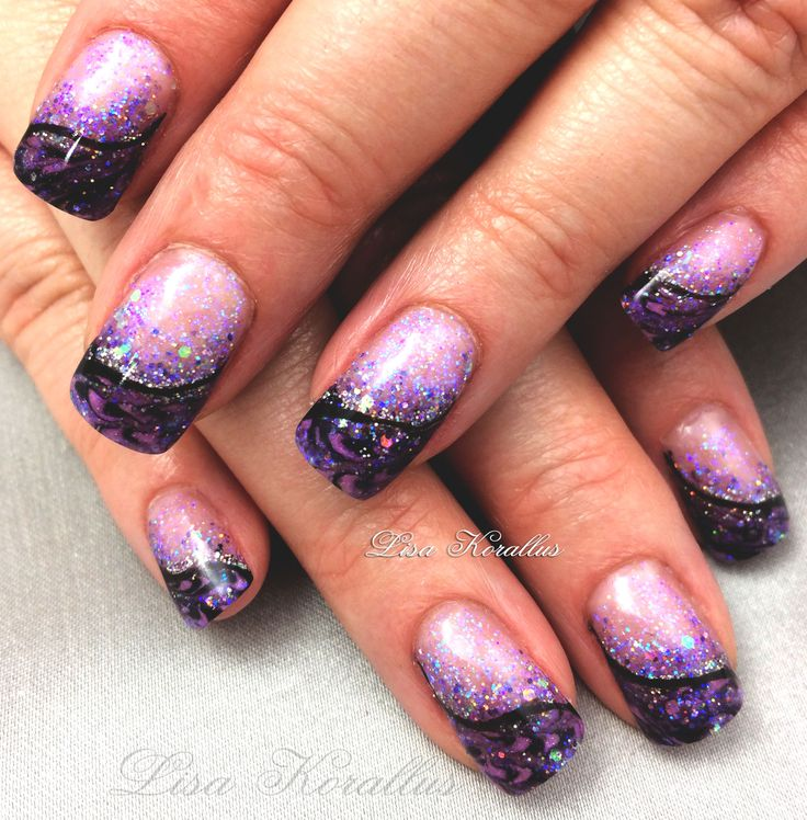 1000+ images about Marble Nail Designs on Pinterest