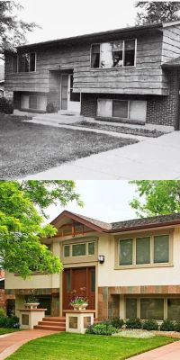 Split-Level Homes Before and After | Before & After ...