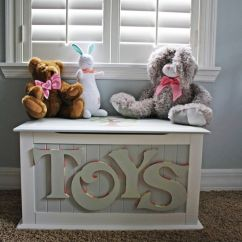 Living Room Toy Box Decorating With Gray Walls Diy Chest Woodworking Projects Plans Custom Hand Painted