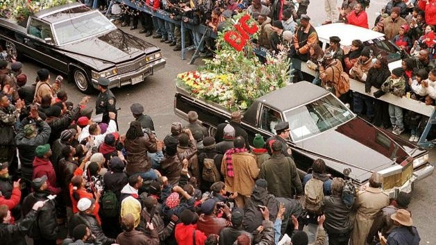 Notorious BIG Funeral 1 Of 3 Funeral Notoriety Pinterest Change 3 And Funeral