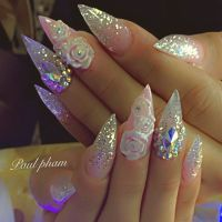 Best 20+ Fancy Nails Designs ideas on Pinterest | Silver ...