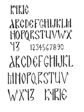 1000+ images about Icon Lettering, Supplies, etc. on