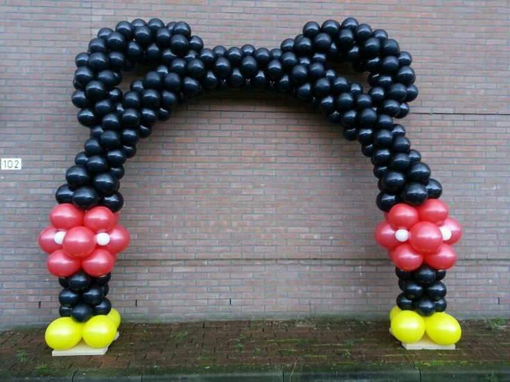 Disney Mickey Mouse Arch My Balloon Creations