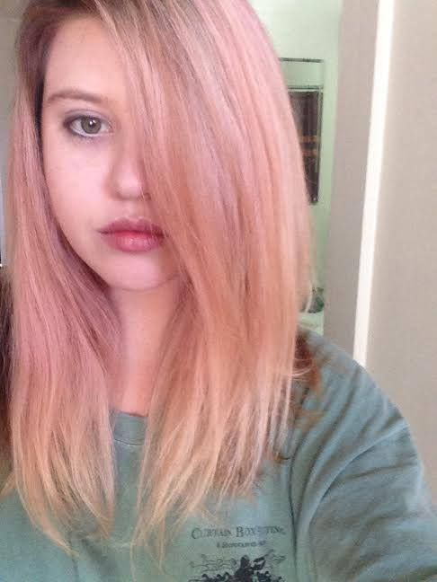 Pastel Pink Hair Created By Carly Strawberry Blonde Salon