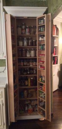 Tall skinny pantry with bun feet. | Kitchen | Pinterest ...
