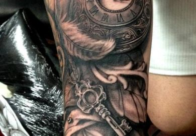 Forearm Sleeve Tattoo Designs For Men
