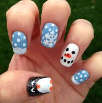 17+ best ideas about Christmas Gel Nails on Pinterest ...