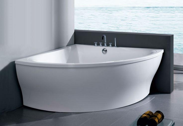 Freestanding Acrylic Corner Bathtub Bathroom Ideas